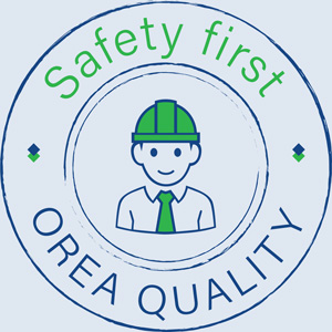 Safety First Orea Quality logo